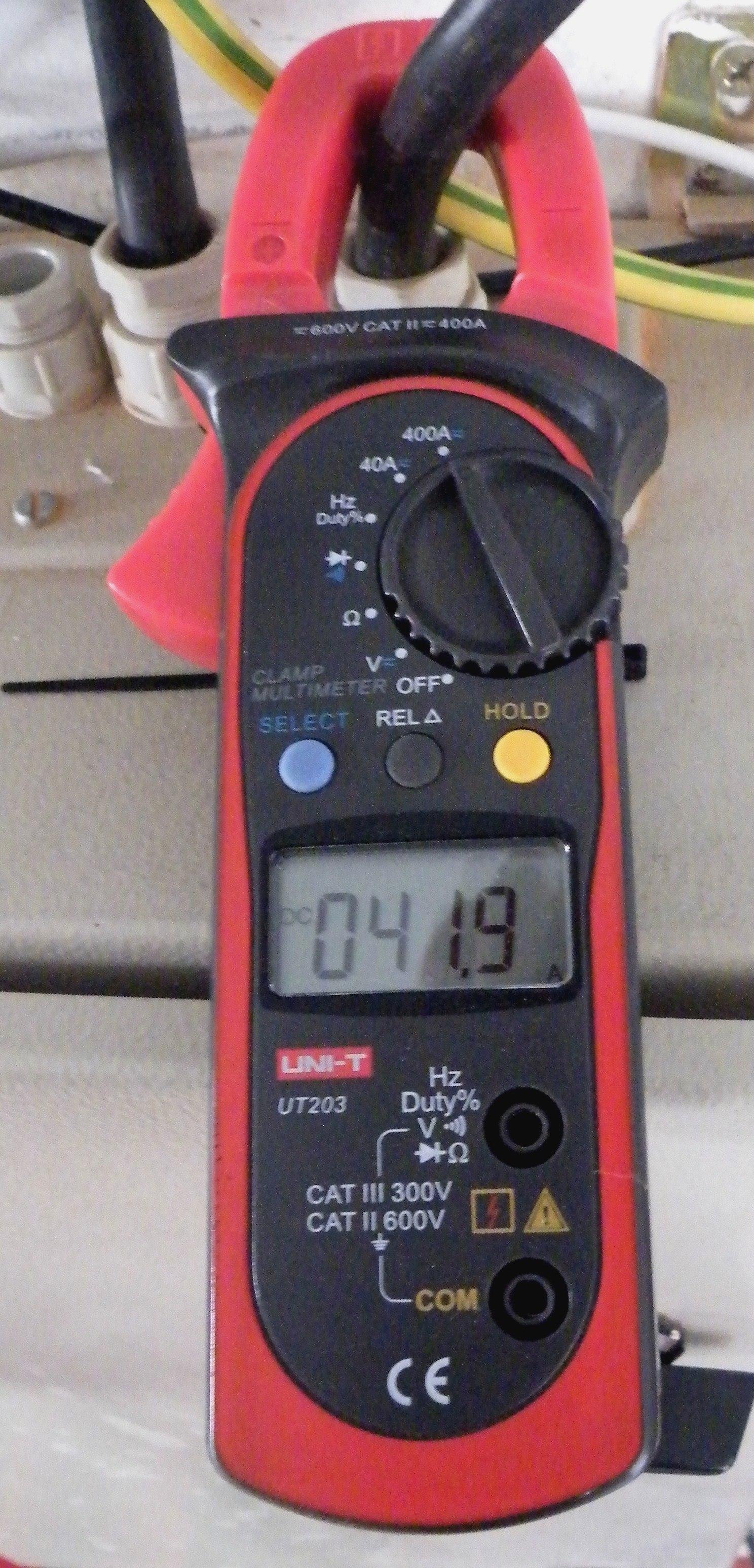 Zangenamperemeter